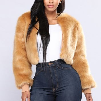 Can't Furget Me Jacket - Taupe