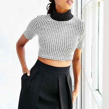 Kimchi Blue Double Layer Seamed Skirt