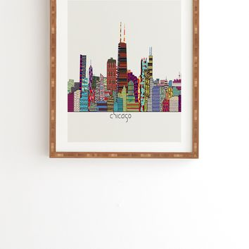 Brian Buckley Chicago City Framed Wall Art
