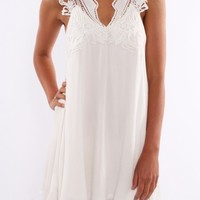 Teash Dress White - Dresses - Shop by Product - Womens