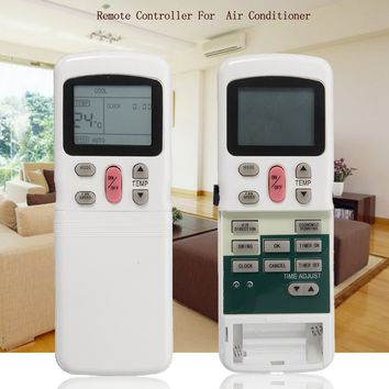 IR Intelligent Remote Control Air Conditioning Smart Remote Control English key Press Sensitive HD display Suitable for TECO