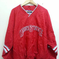 Vintage 1990s The OHIO State University Pro Player Sweater Jumper Jackets