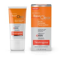 Neutrogena Rapid Clear Acne Defense Face Lotion With Salicylic Acid, 1.7 Fl. Oz. - Walmart.com