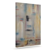 "Cathy Rodgers ""Library"" Painting Abstract Canvas Art"