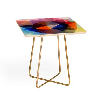 Three Of The Possessed Modern Bloom Side Table