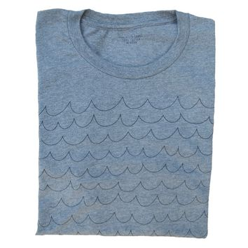 Waves T-Shirt   Unisex Simply the Softest Tee That Feels Like a Well-Loved Favorite
