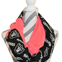 Raiders Pink Scarf