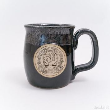 50th Java Taster Pottery Mug | Grateful Dead
