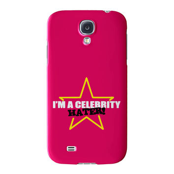 Celebrity Hater Full Wrap High Quality 3D Printed Case for Samsung Galaxy S4 by Chargrilled