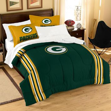 Green Bay Packers NFL Bed in a Bag (Contrast Series)(Full)