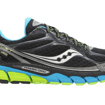 Saucony Ride 7 Goretex Running Trainers - Black