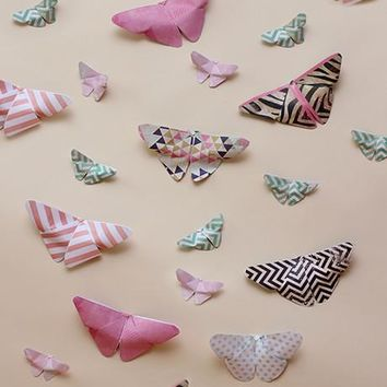 Butterfly Kisses Printed Photography Background / 1649