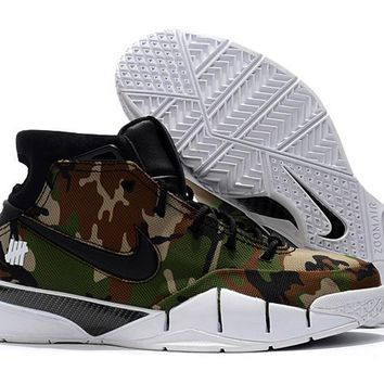 Zoom Kobe 1 Camo Basketball Shoe 40--46