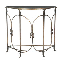 Bordeaux Demi Table Sterling Industries Console/Sofa Tables Accent Tables Living Room Furn