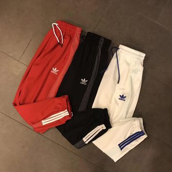 adidas women men casual sport pants sweatpants