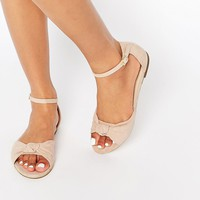 ASOS FIGURE Knot Two Part Flat Sandals