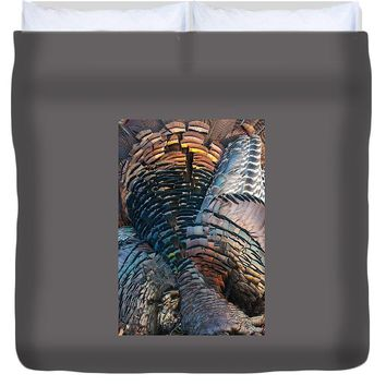 Feather Mosaic - Duvet Cover