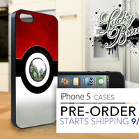 iPhone 5 Hard Case - Pokemon Pokeball - Phone Cover