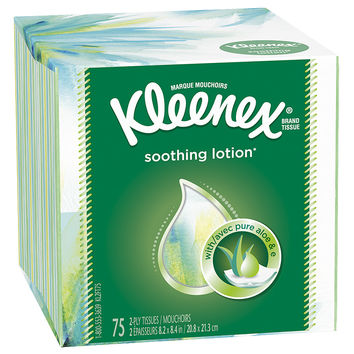 Kleenex Facial Tissues with Lotion | Walgreens