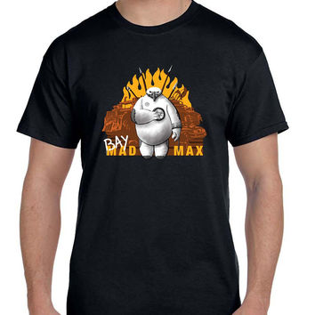 Big Hero 6 Baymax Apocalyptic Healthcare Companion Bay Mad Max T Shirt