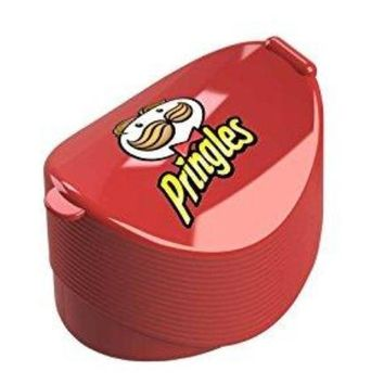 Pringles Single Serve Chips Travel Container - Lunch Snack Potato Chip Holder