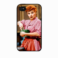 Iphone 4 case, Lucille Ball, I love lucy