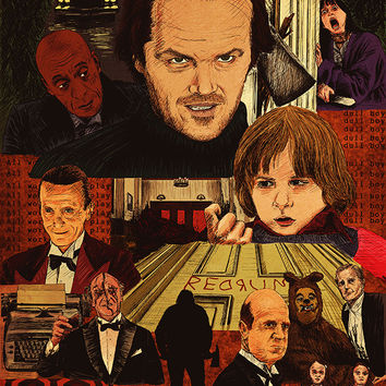 """""""The Shining Movie Poster"""" by Michael DeNicola"""