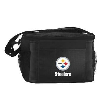Pittsburgh Steelers Insulated 6 Pack Cooler/Lunch Bag