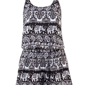 NEW! Midnight Funky Romper