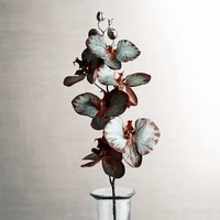Faux Phaleanopsis Orchid Spray