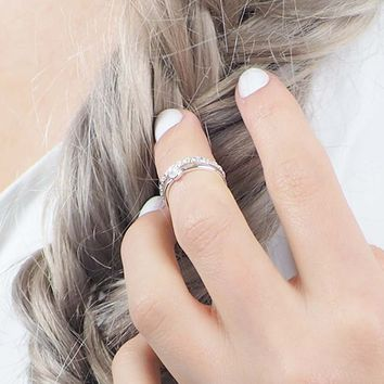 Kitsch Love Unconditionally Midi Ring