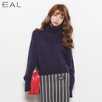 Plus Size Women's Fashion Winter Knit Tops Pullover Ladies Sweater [9022793031]