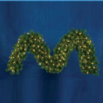 Artificial Christmas Garland - 9ft. - 280 Tips
