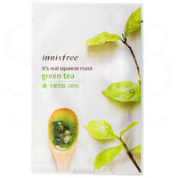 Innisfree It's Real Squeeze Mask - Green Tea  *exp,date 12/18