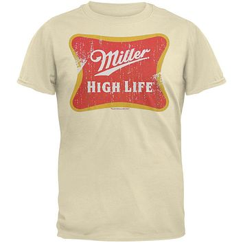 Miller - High Life Distressed Logo T-Shirt