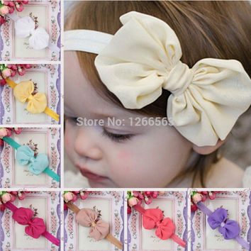Baby Girls Hair Bow Headband