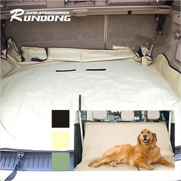 Car Cradle Dog/Cat Rear Back Seat Cover Pet PVC Waterproof Mat Pad Blanket Hammock Cushion Protector Pet Supplies