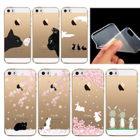 New Cute Animal Printing Case For iPhone 5C