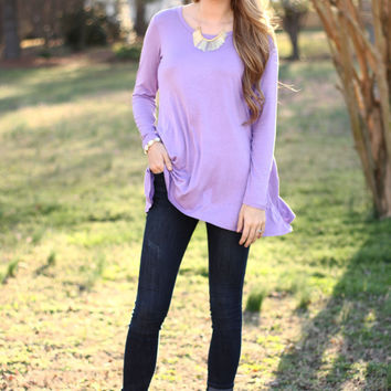 Lilac Be Basic Top