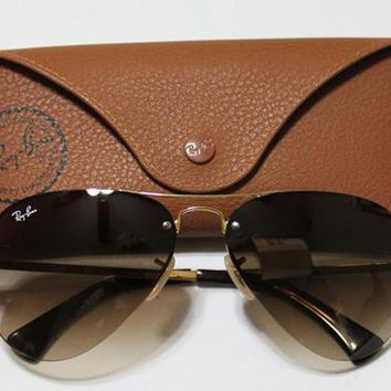 RayBan Classic Avaitors 38MM MSRP $165 outlet