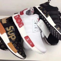 PEAPNO Adidas NMD x LV Louis Vuitton Fashion Trending Leisure Running Sports Shoes