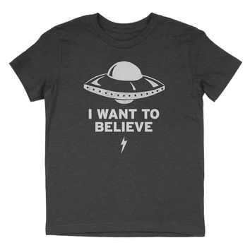 UFO - I Want to Believe - Child T-Shirt
