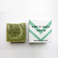 Green Tea Bar Soap Brooklyn