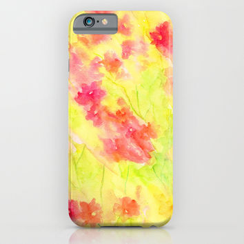 Bougenvilia iPhone & iPod Case by Rosie Brown