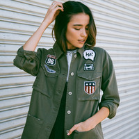 """In The Army Now"" Jacket"