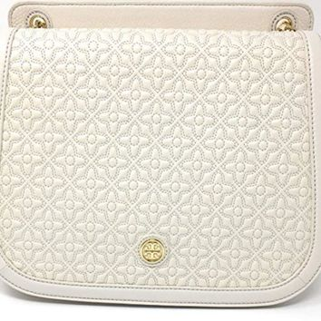 Tory Burch Bryant Quilted Leather Luggage Shoulder Bag