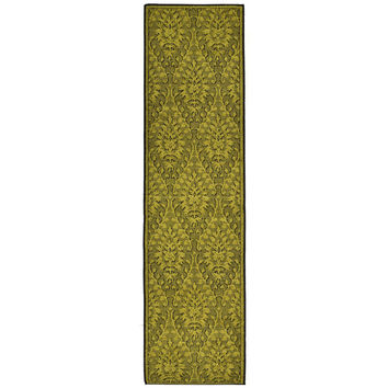 Liora Manne Green Lacework Indoor Rug (1'11 x 7'6) | Overstock.com Shopping - The Best Deals on Runner Rugs
