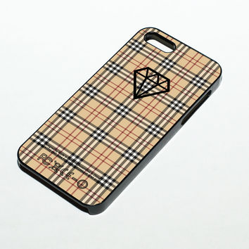 Diamond Burberry Case - iPhone 4/4s, iPhone 5/5s/5c, iPhone 6/6s/6+/6s