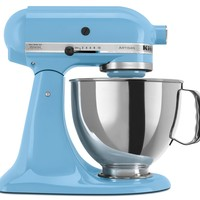 KitchenAid Artisan Series Crystal Blue Tilt Head Stand Mixer, 5 Quart:Amazon:Kitchen & Dining