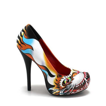 Ruthless Tiger Platform Heel by Iron Fist - SALE